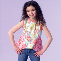 McCalls 7181 Pattern ( Size 7-8-10 )