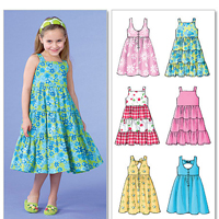 McCalls 7222 Pattern ( Size 6-7-8 )