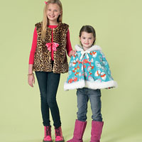 McCalls 7237 Pattern ( Size 3-4-5-6 )