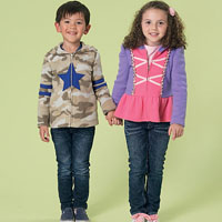 McCalls 7239 Pattern ( Size 6-7-8 )