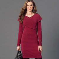 McCalls 7243 Pattern ( Size 4-6-8-10-12 )
