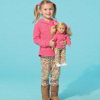 McCalls 7275 Pattern ( Size 2-3-4-5 )