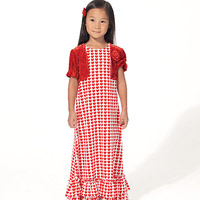 McCalls 7277 Pattern ( Size 6-7-8 )