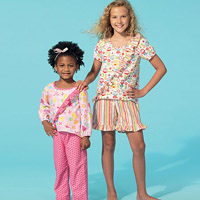 McCalls 7278 Pattern ( Size 3-4-5-6 )
