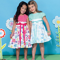 McCalls 7343 Pattern ( Size 2-3-4-5 )