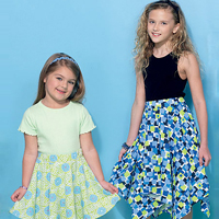 McCalls 7345 Pattern ( Size 7-8-10-12-14 )
