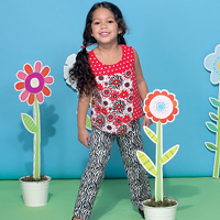 McCalls 7346 Pattern ( Size 2-3-4-5 )