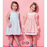 McCalls 7375 Pattern ( Size 6-7-8 )