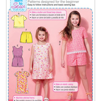 McCalls 7377 Pattern ( Size 3-4-5-6 )