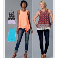 McCalls 7389 Pattern ( Size 6-8-10-12-14 )