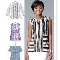 McCalls 7390 Pattern ( Size 6-8-10-12-14 )