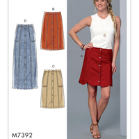 McCalls 7392 Pattern ( Size 6-8-10-12-14 )