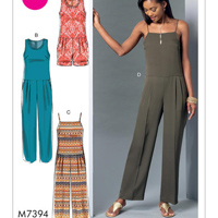 McCalls 7394 Pattern ( Size 14-16-18-20-22 )
