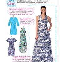 McCalls 7406 Pattern ( Size 14-16-18-20-22 )