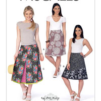 McCalls 7414 Pattern ( Size 6-8-10-12-14 )