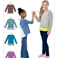 McCalls 7424 Pattern ( Size 7-8-10-12-14 )