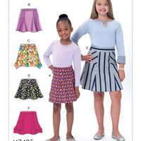 McCalls 7425 Pattern ( Size 7-8-10-12-14 )