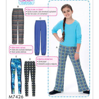 McCalls 7426 Pattern ( Size 101/2-12 1/2-14 1/2-16 1/2 )