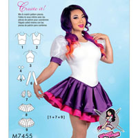 McCalls 7455 Pattern ( Size 14-16-18-20-22 )