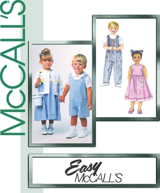 McCall's Toddler Romper 2033