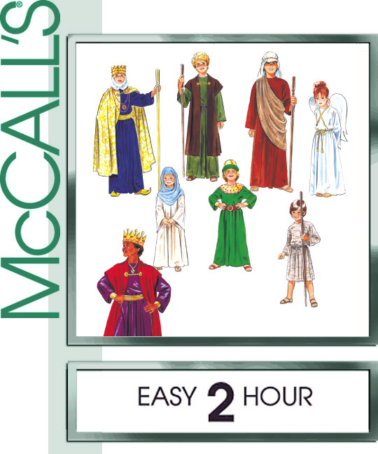 McCall's Christmas Costumes 2340