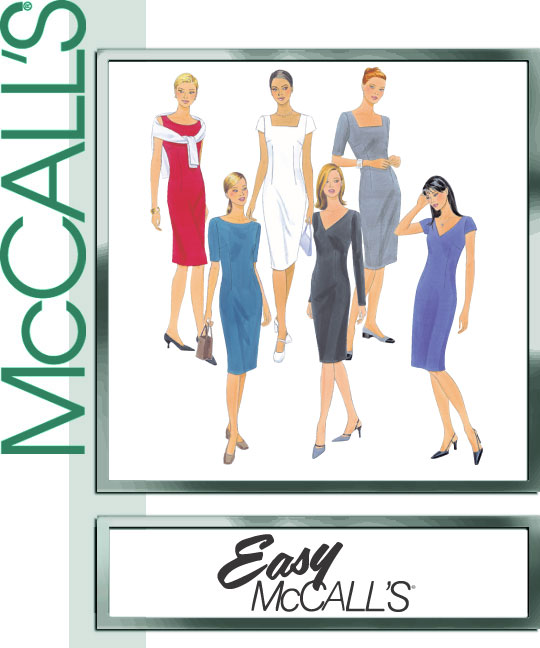 McCall's Fitted sheath 2401