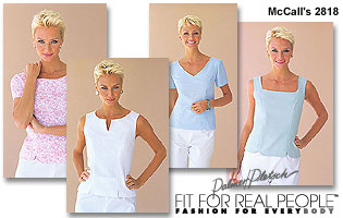 McCall's Tops 2818