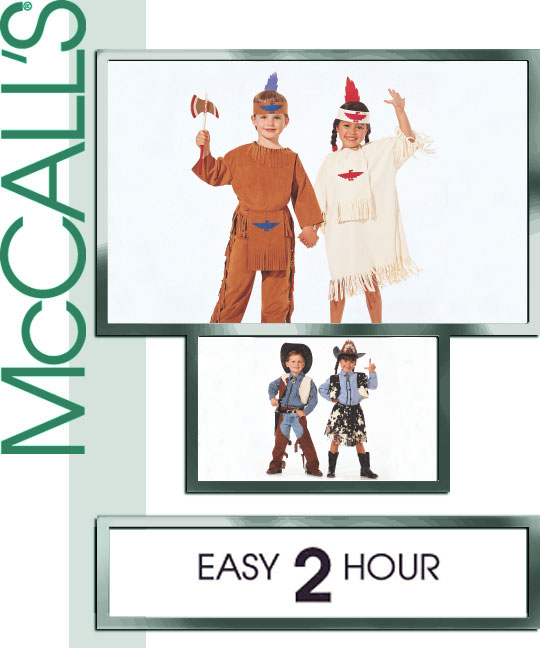 McCall's Cowboys and Indians 2851