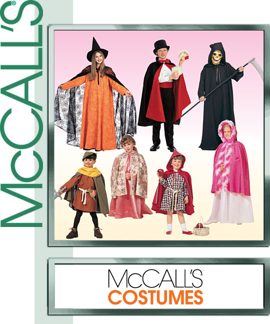 McCall's capes 2854