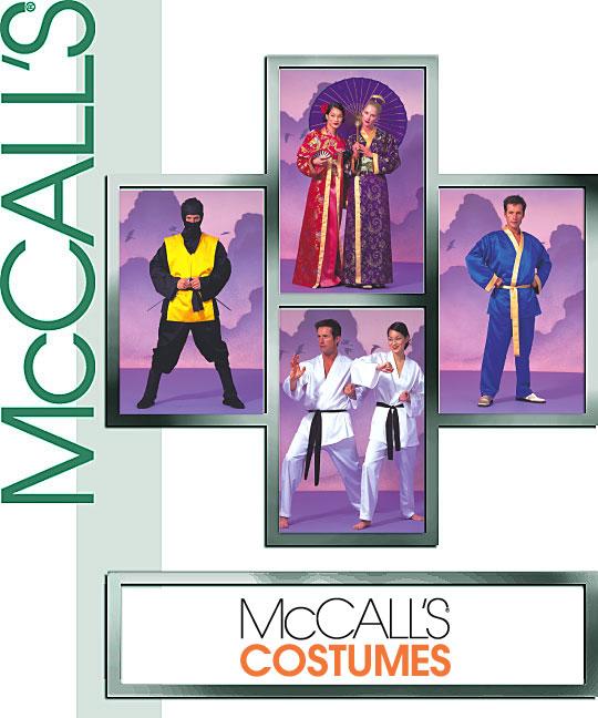 McCall's Robe Costumes - Kimono 2940