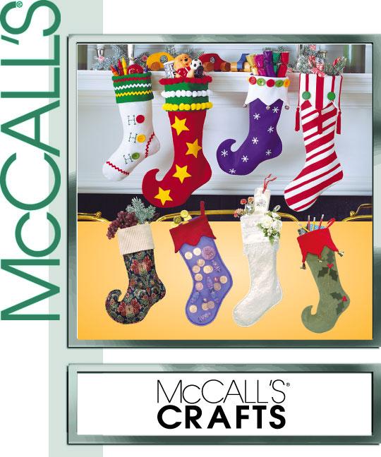 McCall's Christmas Stockings 2991