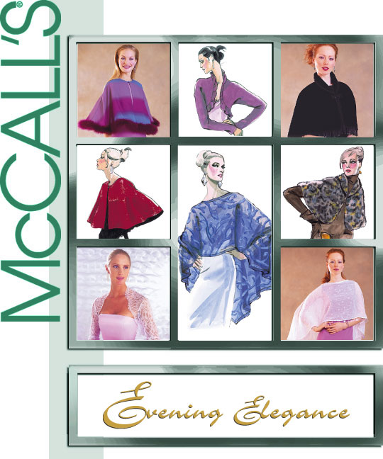 McCall's Evening Cover-Ups 3033