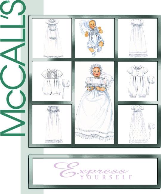 McCall's Infant Tuxedo 3063