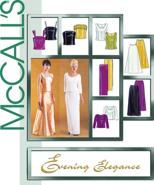 McCall's formal dresses 3436