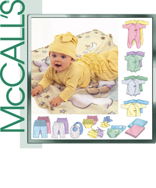 McCall's Infant layette 3665