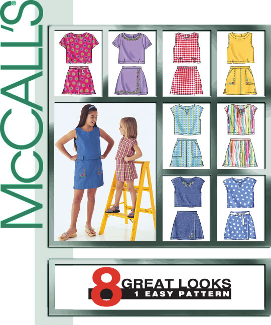 McCall's 8 GREAT LOOKS SHORT SETS 3677