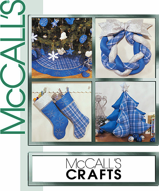 McCall's A Blue Christmas 3777