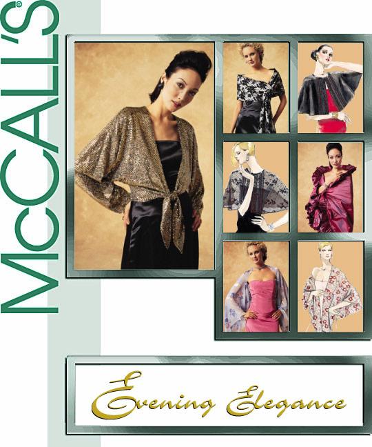 McCall's Misses' Wraps 3880