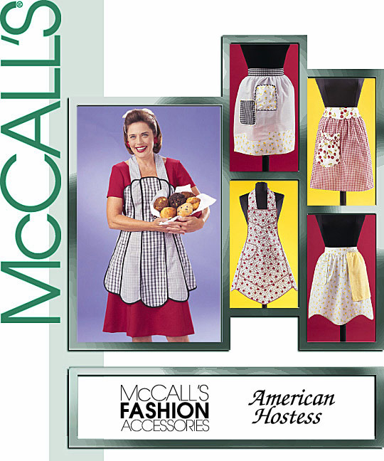 McCall's Vintage Aprons 3979
