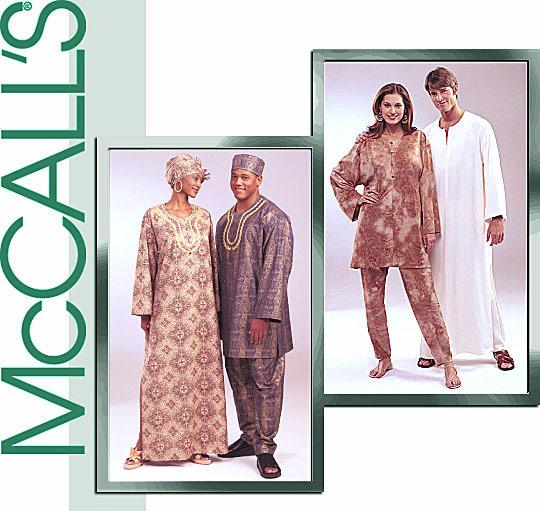 McCall's Tunics,Caftans,Pants,Hat 4002