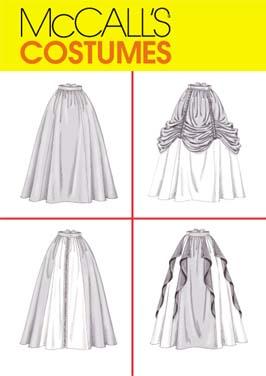 McCall's Misses' Renaissance Skirts 4090
