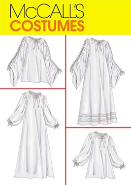McCall's Renaissance chemise 4091