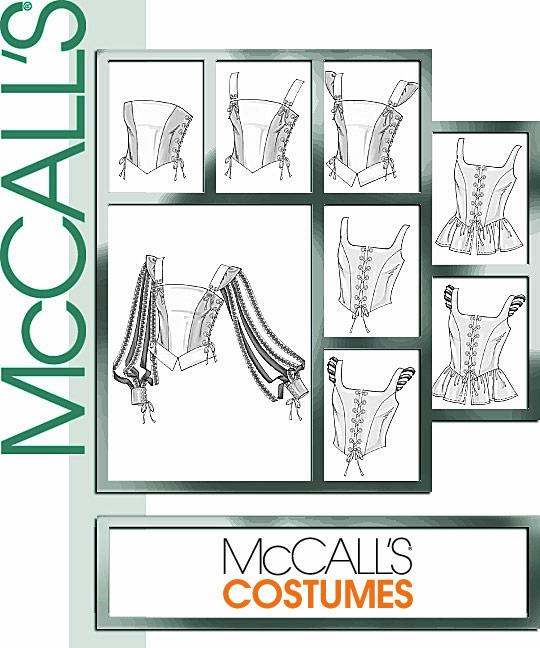 McCall's Misses' Renaissance Lined Vest 4107