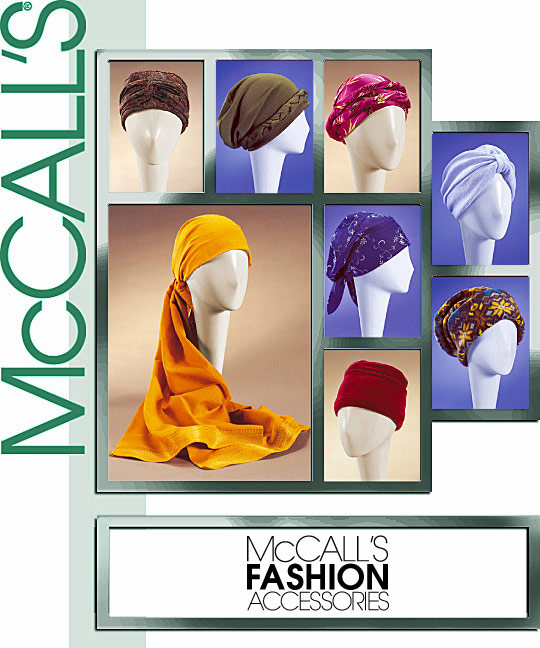 McCall's Turban, Headwrap and Caps 4116