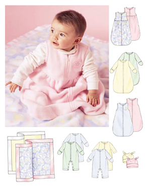 McCall's Infant Bunting 4236