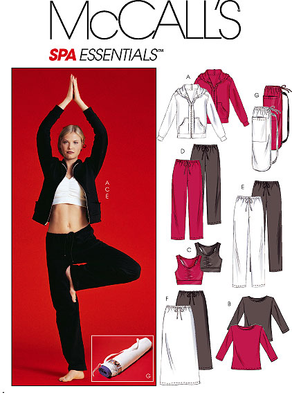McCall's Spa Essentials - pants 4261