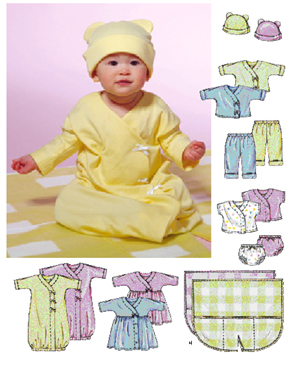 McCall's Infant's Layette 4280