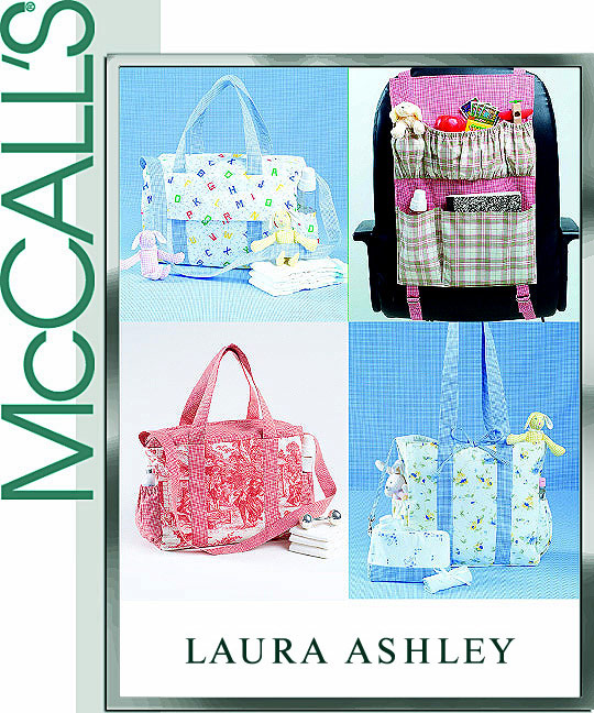 McCall's Laura Ashley Diaper Bags 4403