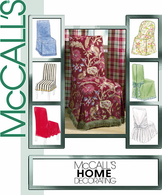 McCall's Chair Covers 4404