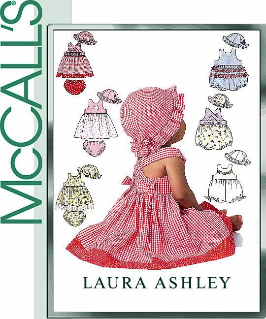 McCall's Laura Ashley summer dresses 4424